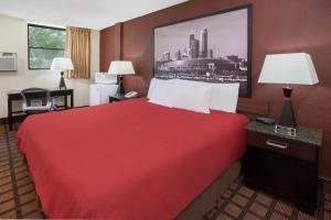 Zimmer mit Kingsize-Bett – Raucher