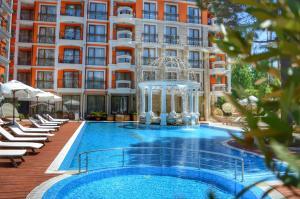 Harmony Palace, Aparthotely  Slunečné pobřeží - big - 38