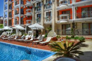 Harmony Palace, Aparthotely  Slunečné pobřeží - big - 39