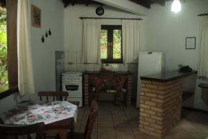 Chalet with Kitchen and Balcony