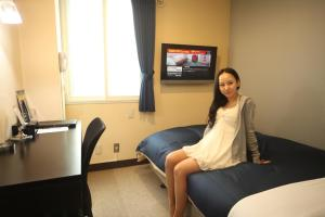 Frame Hotel Sapporo, Hotel low cost  Sapporo - big - 53
