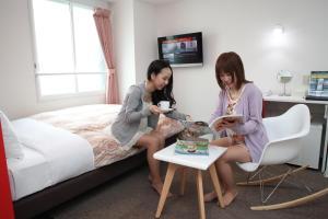 Frame Hotel Sapporo, Hotel low cost  Sapporo - big - 79