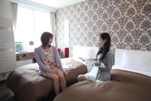 Frame Hotel Sapporo, Hotel low cost  Sapporo - big - 76