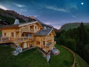 Chalet Macaron, Alpesi faházak  Le Grand-Bornand - big - 3