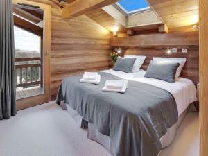 Chalet Macaron, Alpesi faházak  Le Grand-Bornand - big - 5