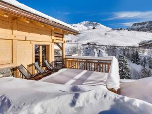 Chalet Macaron, Alpesi faházak  Le Grand-Bornand - big - 7