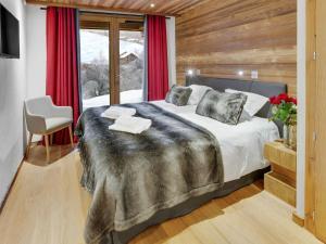 Chalet Macaron, Alpesi faházak  Le Grand-Bornand - big - 8