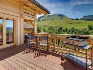 Chalet Macaron, Alpesi faházak  Le Grand-Bornand - big - 10