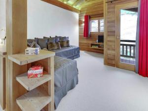 Chalet Macaron, Alpesi faházak  Le Grand-Bornand - big - 11