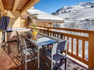 Chalet Macaron, Alpesi faházak  Le Grand-Bornand - big - 12