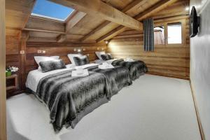 Chalet Macaron, Alpesi faházak  Le Grand-Bornand - big - 14