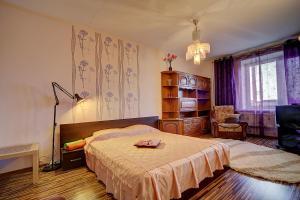 Apartment at Prospekt Bolshevikov, Ferienwohnungen  Sankt Petersburg - big - 9