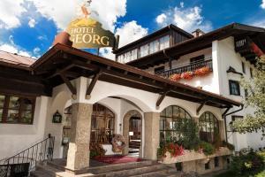 4 hvězdičkový hotel Johannesbad Hotel St. Georg Bad Hofgastein Rakousko