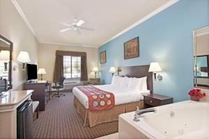 Suite con bañera de hidromasaje adaptada para personas de movilidad reducida - 1 cama extragrande - No fumadores