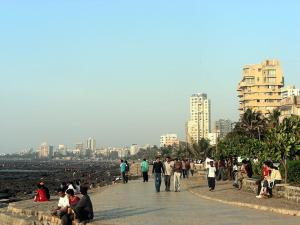 Bandra (W) Sea Apt, Appartamenti  Mumbai - big - 2