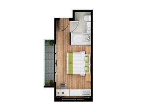Hjørne-suite
