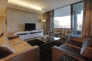 Luxus Apartment mit 3 Schlafzimmern und Balkon