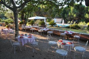 Bastide de l'Avelan, Отели типа «постель и завтрак»  Гримо - big - 5