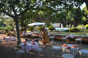 Bastide de l'Avelan, Отели типа «постель и завтрак»  Гримо - big - 61