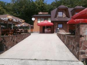 La Rosa na Vinianskom jazere, Pensionen  Vinné - big - 36