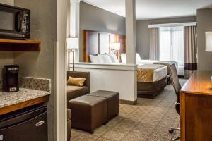 Deluxe Queen Suite with Two Queen Beds / Sofa Bed- Non Smoking