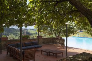 Quercia Al Poggio, Фермерские дома  Барберино-Валь-д'Эльса - big - 83