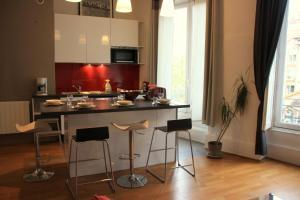 Appart' Sathonay, Apartmanok  Lyon - big - 21