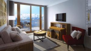 Appart'Hotel Odalys Prestige Eden, Apartmanhotelek  Arc 1800 - big - 19