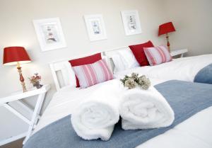 Rom med king-size-seng eller 2 enkeltsenger