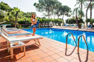 Hotel Eden Park, Отели  Диано-Марина - big - 41