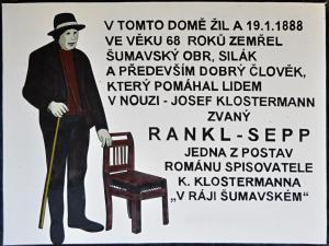 Penzion Rankl-Sepp, Guest houses  Stachy - big - 19