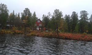 Ivalo Lake Cottage, Шале  Ивало - big - 11