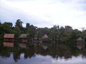 Abundancia Amazon Eco Lodge, Kunyhók  Santa Teresa - big - 4