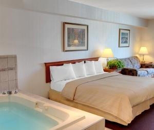 King Suite with Hot Tub and Sofa Bed