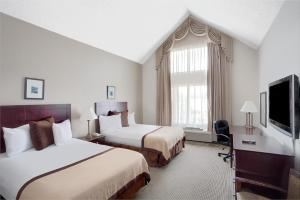 Effeciency Double Room with Two Double Beds - Non Smoking