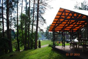 Sigito sodyba, Holiday homes  Vilkiautinis - big - 14