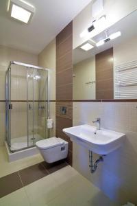 Mielno Apartments Rezydencja Park, Appartamenti  Mielno - big - 4