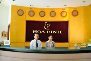 Hoa Binh 1 Hotel, Отели  Long Xuyên - big - 32