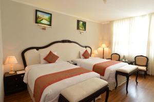 Hoa Binh 1 Hotel, Отели  Long Xuyên - big - 6