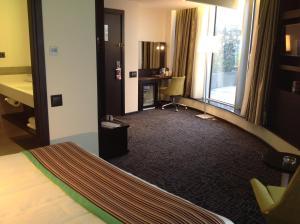 Двухместный номер с 1 кроватью и террасой