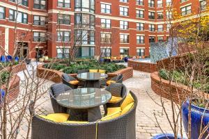 M Street Apartment by Stay Alfred, Апартаменты  Вашингтон - big - 14