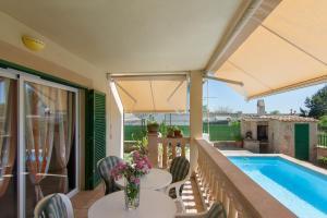 Goleta, Apartmanházak  Playa de Muro - big - 6