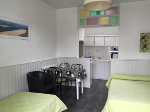 Hôtel-Résidence Le Grillon, Aparthotely  Arcachon - big - 31