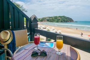 Chez Pitu Praia Hotel, Отели  Бузиус - big - 13