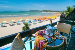 Chez Pitu Praia Hotel, Отели  Бузиус - big - 51