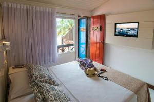 Chez Pitu Praia Hotel, Отели  Бузиус - big - 57