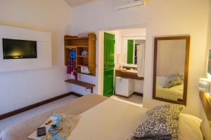 Chez Pitu Praia Hotel, Отели  Бузиус - big - 30