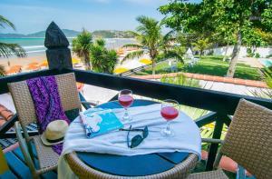 Chez Pitu Praia Hotel, Отели  Бузиус - big - 27