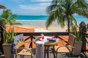 Chez Pitu Praia Hotel, Отели  Бузиус - big - 26
