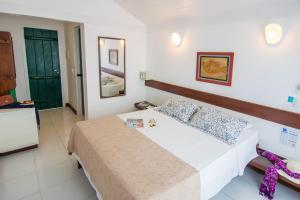 Chez Pitu Praia Hotel, Отели  Бузиус - big - 25